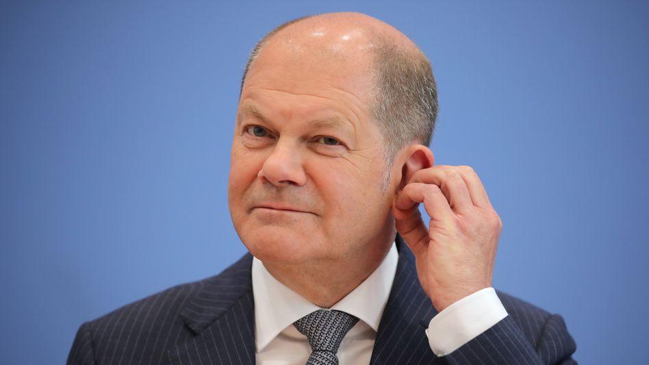 Finanzminister Scholz: Entlastungen erscheinen möglich.