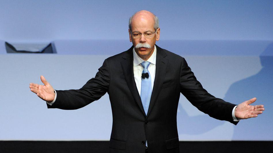 Dieter Zetsche: Auch der Daimler-Chef wird in der nächsten Woche über das abgelaufene Quartal berichten