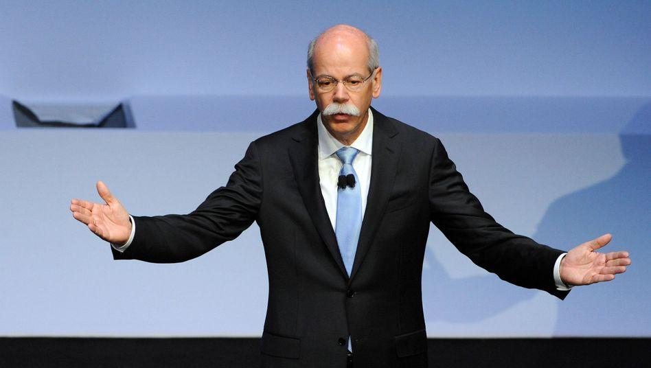 """Daimler-Chef Zetsche: """"Wir liegen im Plan"""""""