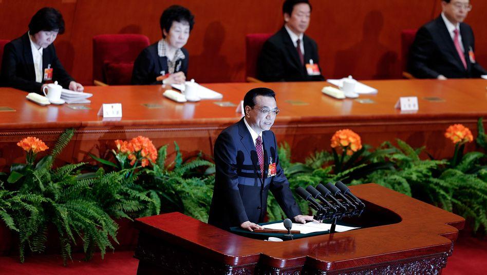 """Großer Auftritt: Li Keqiang verkündet die """"neue Normalität"""""""