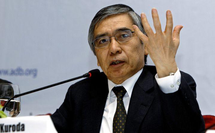 Gouverneur der Bank von Japan: Haruhiko Kuroda