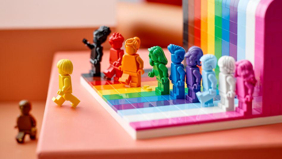 """""""Everyone is Awesome"""" (""""Alle sind super""""): Legos elf monochrome Minifiguren sollen ethnische und Geschlechter-Vielfalt repräsentieren"""