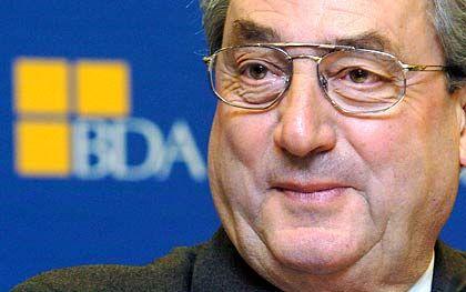 Bleibt bis 2009: BDA-Präsident Dieter Hundt