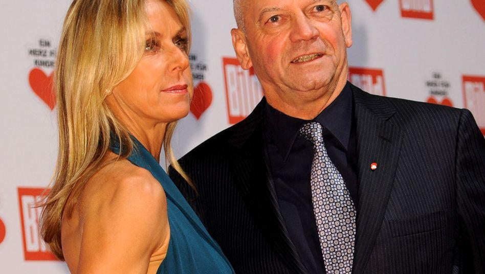 Auch auf Galas unterwegs: Ex-Air-Berlin-Chef Hunold mit Frau Michaela