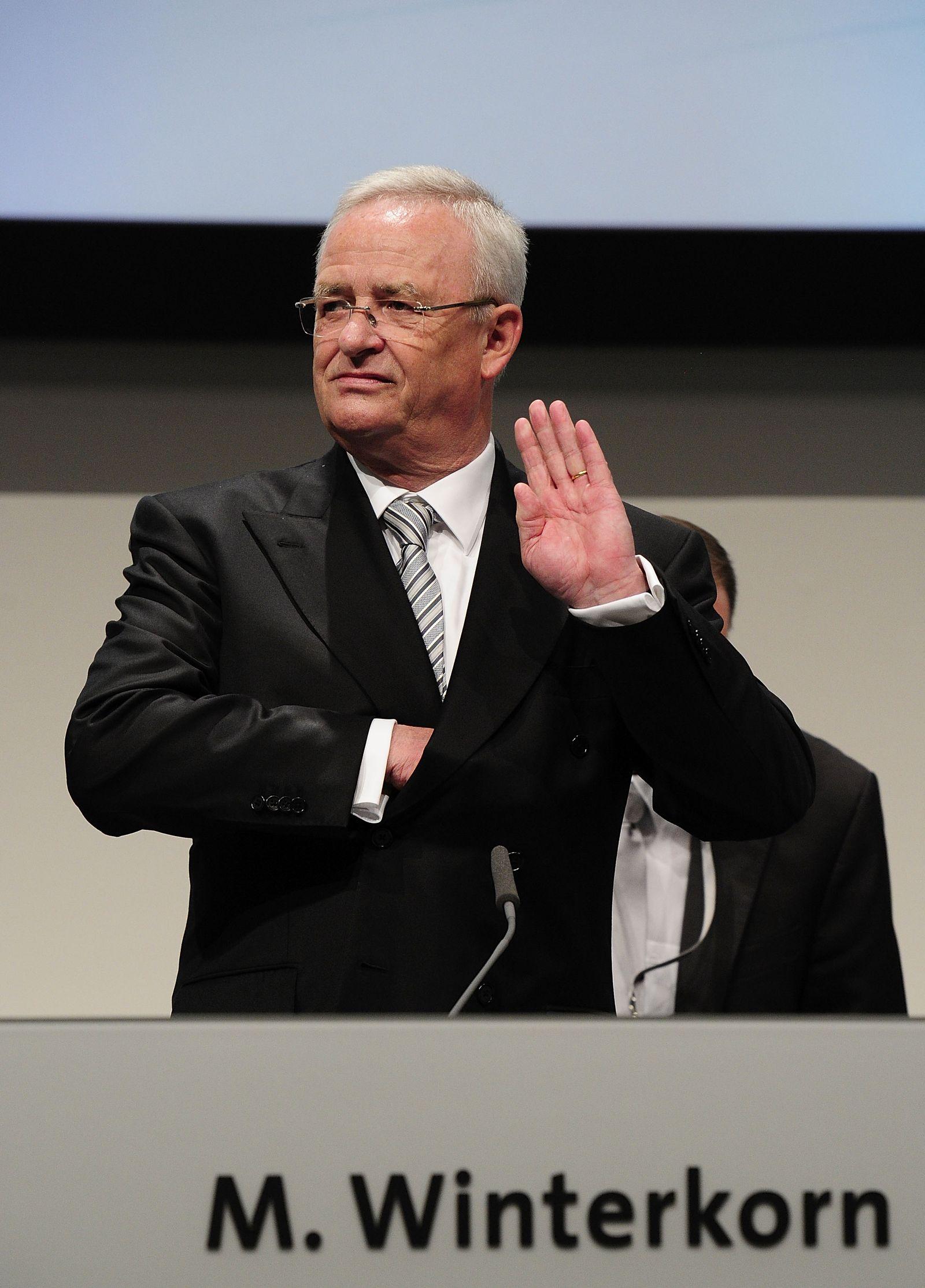 Volkswagen HV; Martin Winterkorn