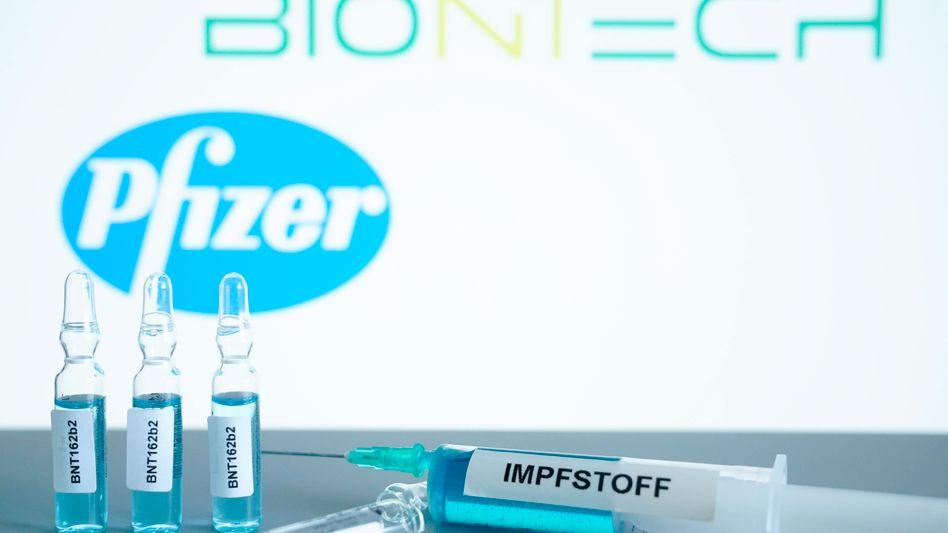 Zwei Dosen pro Person: Corona-Impfstoff von BioNTech und Pfizer