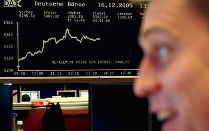 Börse Frankfurt am Main: Kursgewinne zum Wochenstart