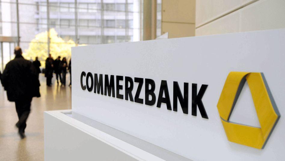 Den Bund im Boot: Die Commerzbank bekam in der Krise Staathilfe