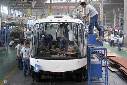 """Busproduktion in China: """"Die Konkurrenz macht das Rennen. Das ist die Gefahr"""""""