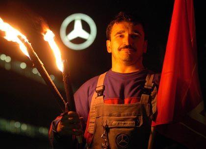 Protestierender Sindelfinger: Zu Kompromissen bereit?