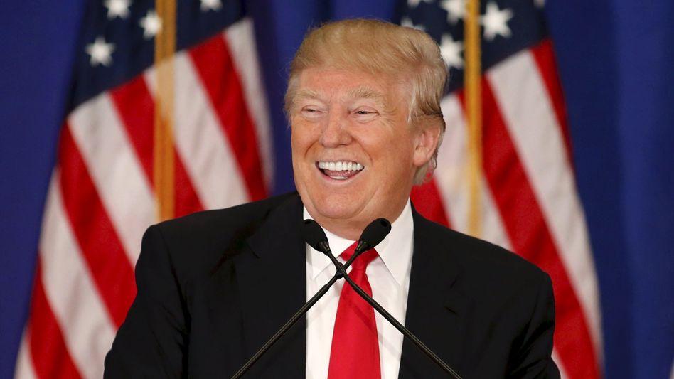 Donald Trump setzt auf die Deutsche Bank