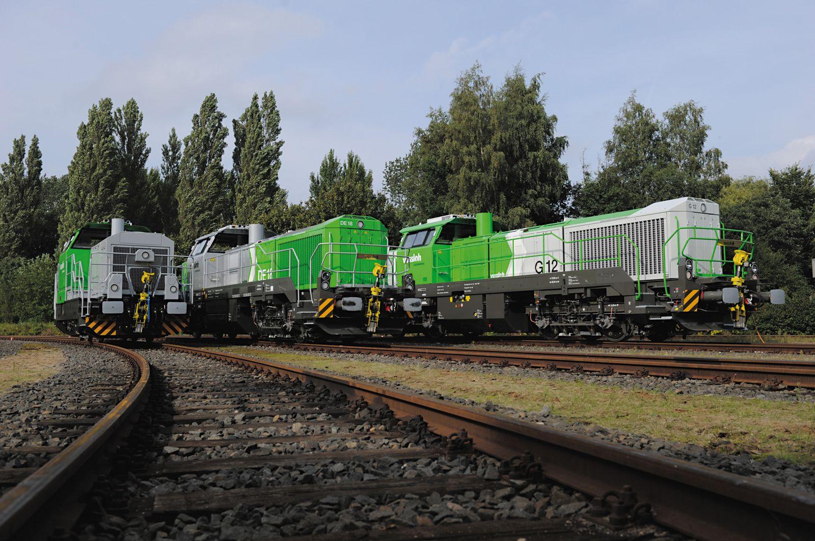 Vossloh / Loks G 6, G 12 und DE 18