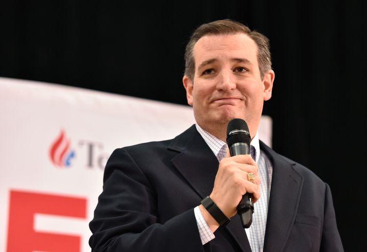 Christlicher Kreuzzügler: Ginge es nach konservativer Ideologie, müsste Ted Cruz die Evangelikalen gewinnen
