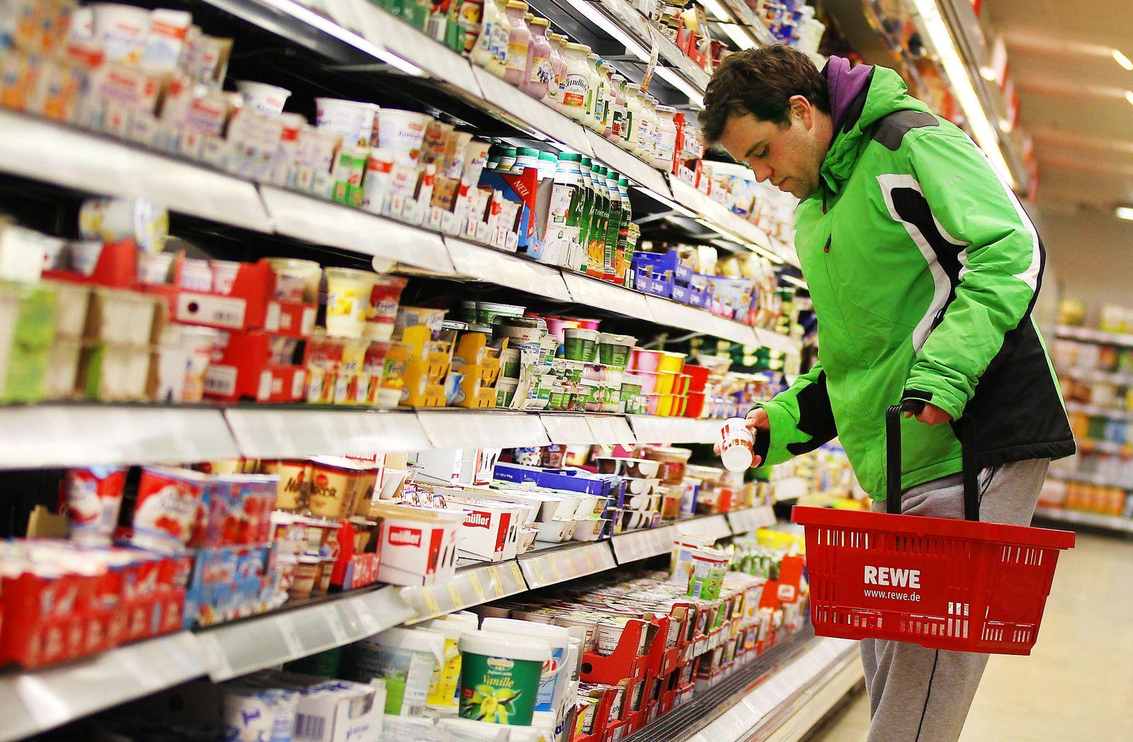 Nahrungsmittel / Supermarkt / Lebensmittel / Preise / Inflation / Konsum