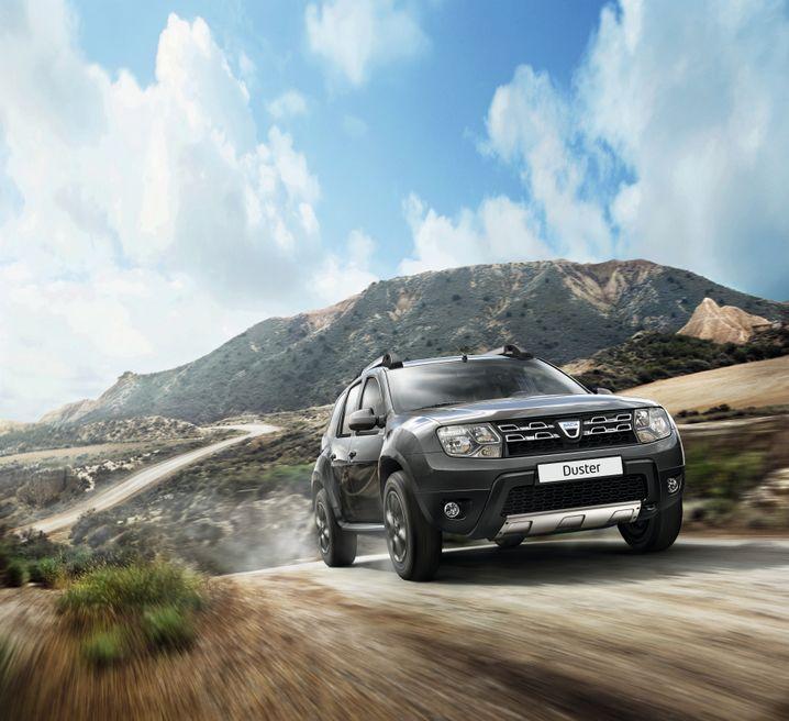 Renault: Die Billig-Marke Dacia (im Bild Dacia Duster) verkaufte 2013 rund 430.000 Autos. Kritiker befürchten eine Kannibalisierung
