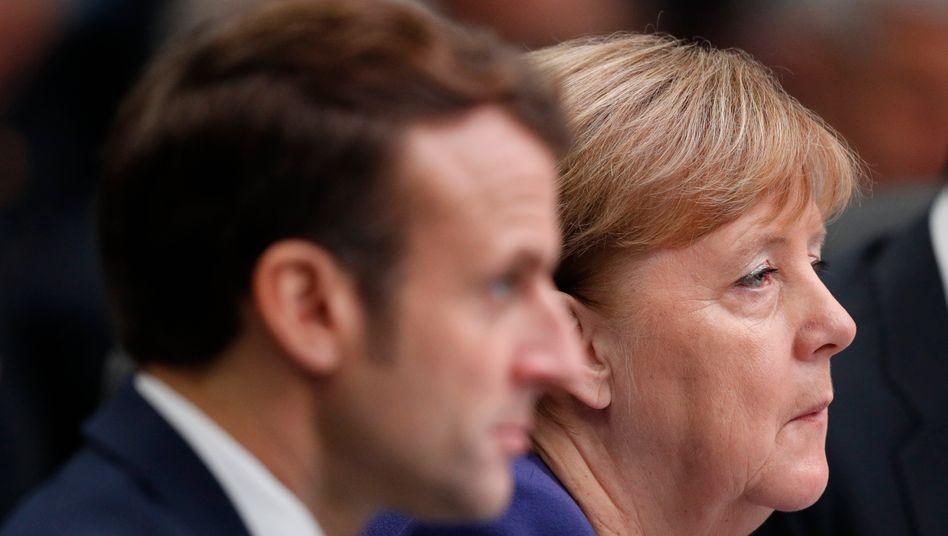 Macron, Merkel: Die Geduld mit den Briten geht zu Ende
