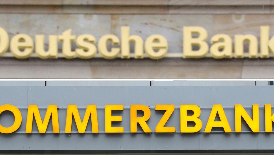 Eine mögliche Fusion von Deutscher Bank und Commerzbank ist immer wieder Anlass für Spekulationen