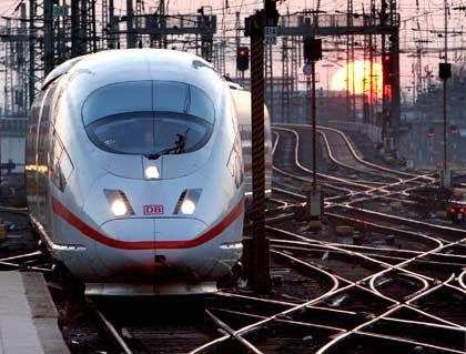 ICE der Deutschen Bahn: In der Zukunft auch auf Gleisen in den USA?