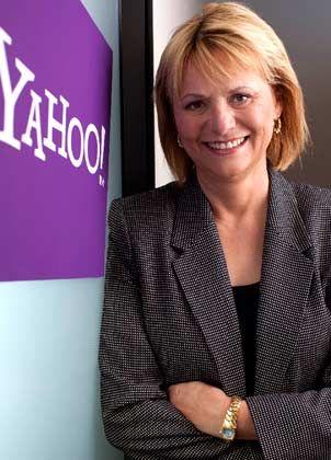 Mitten im Konzernumbau: Yahoo-Chefin Bartz