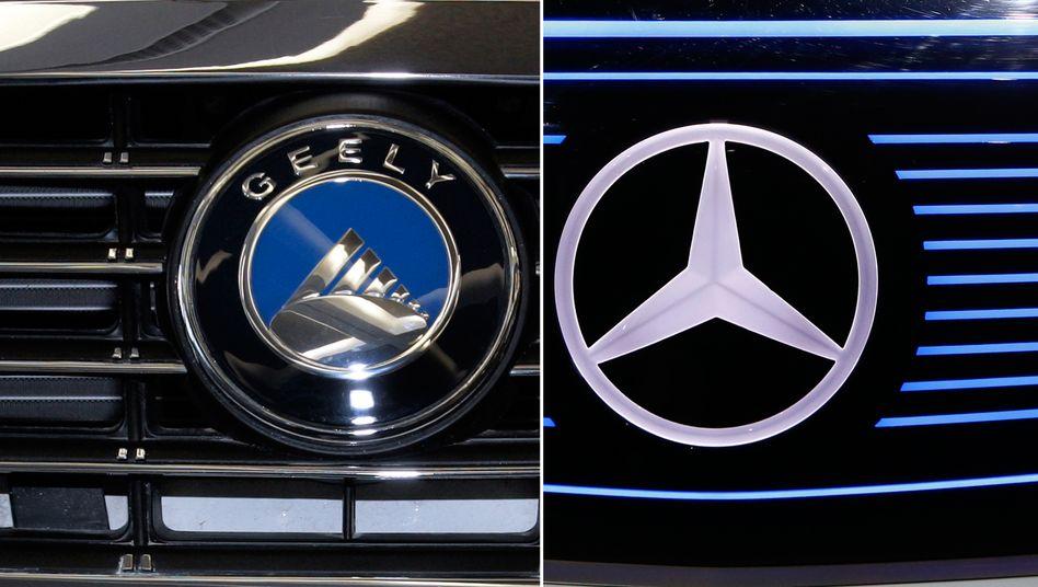 Geely, Mercedes: Neuer Weltkonzern mit chinesischem Ankerinvestor?