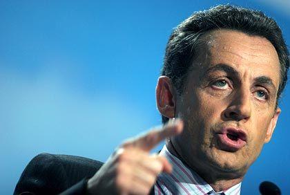 Wahlsieger: Sarkozy wird der erste französische Staatschef sein, der nach dem Zweiten Weltkrieg geboren ist
