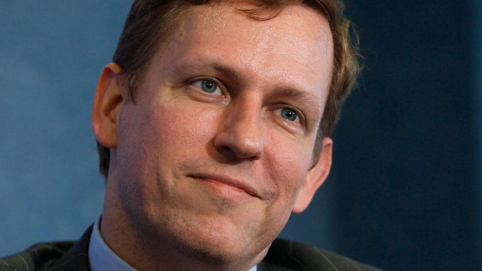 """Peter Thiel: """"Erfolgreiche Menschen finden ihre Goldgrube an unerwarteten Orten"""""""