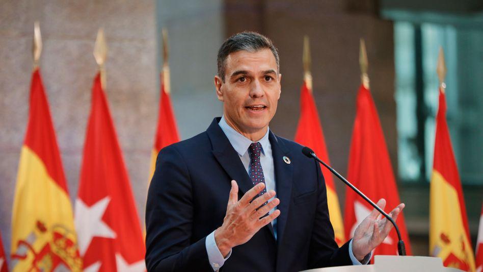 Pedro Sanchez, Ministerpräsident von Spanien