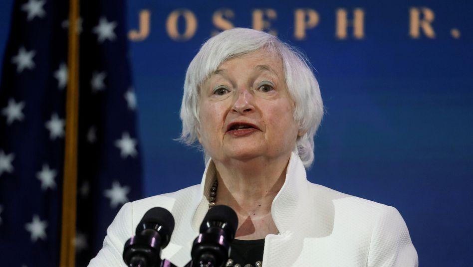 Janet Yellen: Die ehemalige Fed-Chefin genießt international hohes Ansehen