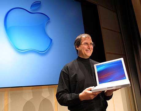 Wechsel zur Konkurrenz? Apple-Chef Steve Jobs