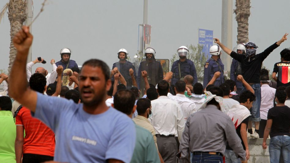 Proteste in Bahrain: Jetzt stärkt der Golf-Kooperationsrat dem König den Rücken