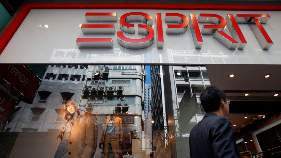 Esprit-Laden in Hongkong: Der Modekonzern hofft auf Rettung durch Insolvenz.
