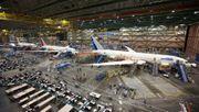 Produktionsmängel werfen Boeing zurück