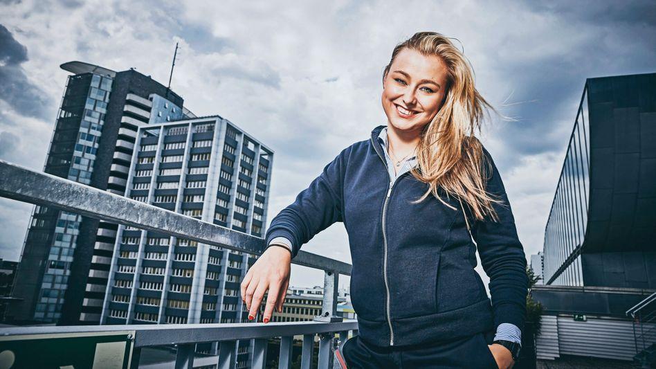 Späte Wendung: Start-up-Gründerin Pia Poppenreiter
