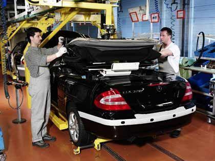 Aus für Karmann: Das Mercedes CLK Cabrio war der letzte Auftrag zur Autofertigung