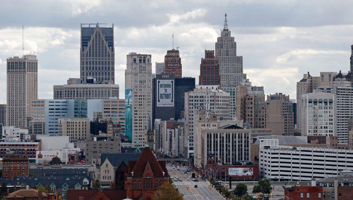 Amerikas teure Metropolen: Auch in Detroit heben die Immobilienpreise ab