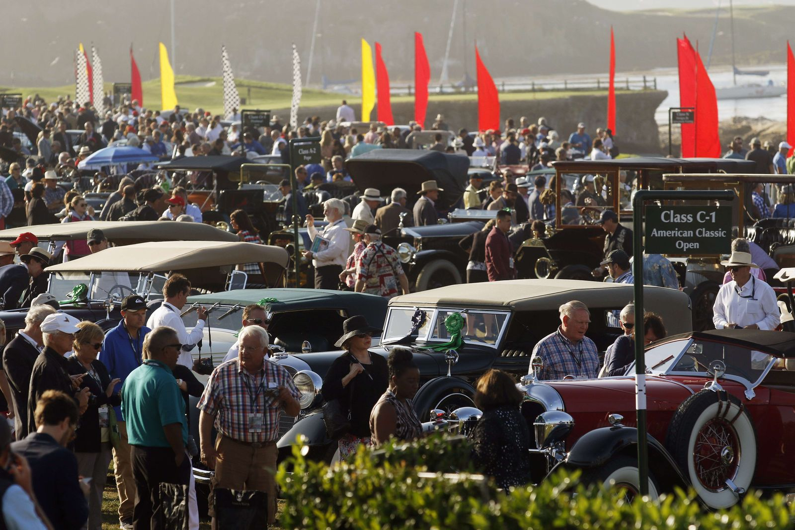 US-AUTO-CLASSIC-SHOW 2015 in Pebble Beach