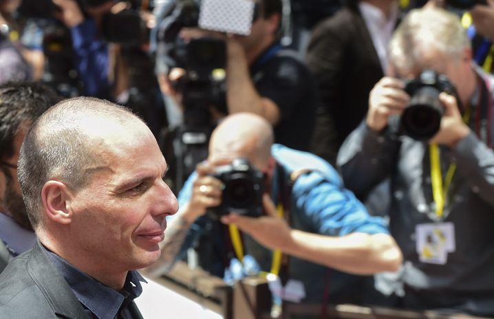 Erwartet Flexibilität der Geldgeber: Griechenlands Finanzminister Varoufakis