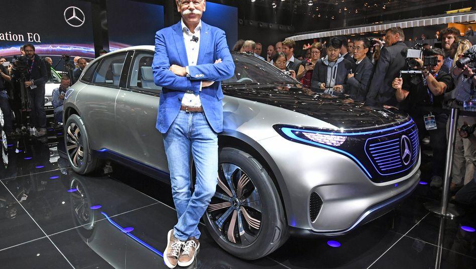 Daimler-Chef Dieter Zetsche: Gemeinsame Elektroplattform mit Großaktionär Geely?