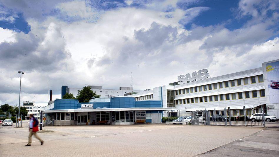 Saab-Zentrale in Trollhattan, Schweden: In schwerer Krise