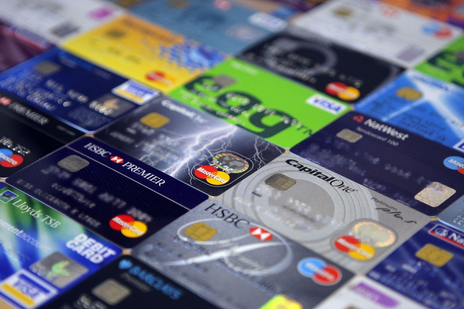 Kreditkarten (diverse)