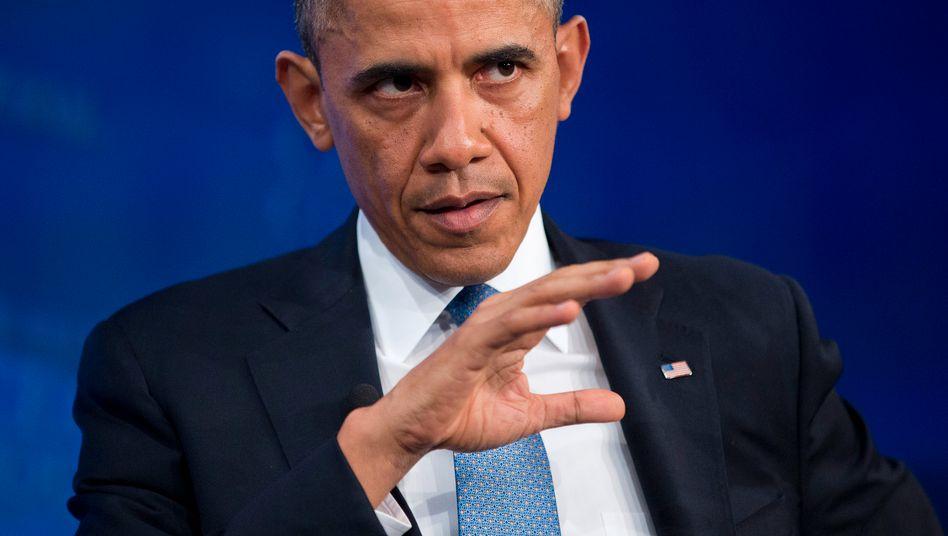"""US-Präsident Obama: """"Unfertiges Vorhaben"""""""