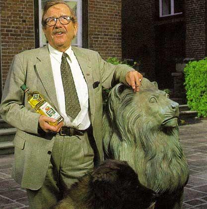 Ein Mann und sein Produkt: Friedrich Berentzen starb im Alter von 80 Jahren
