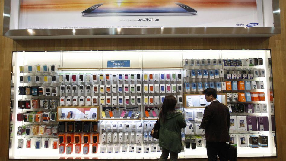 Samsung in Seoul: Die Zahl der Modelle könnte um bis zu ein Drittel sinken