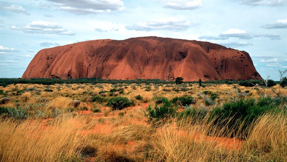 Wahrzeichen Ayers Rock: Australien verliert im Autogeschäft zunehmend an Boden