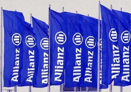 Angekratztes Image: Die Allianz musste sich zuletzt besonders wegen der Tochter Dresdner Bank viel Kritik gefallen lassen