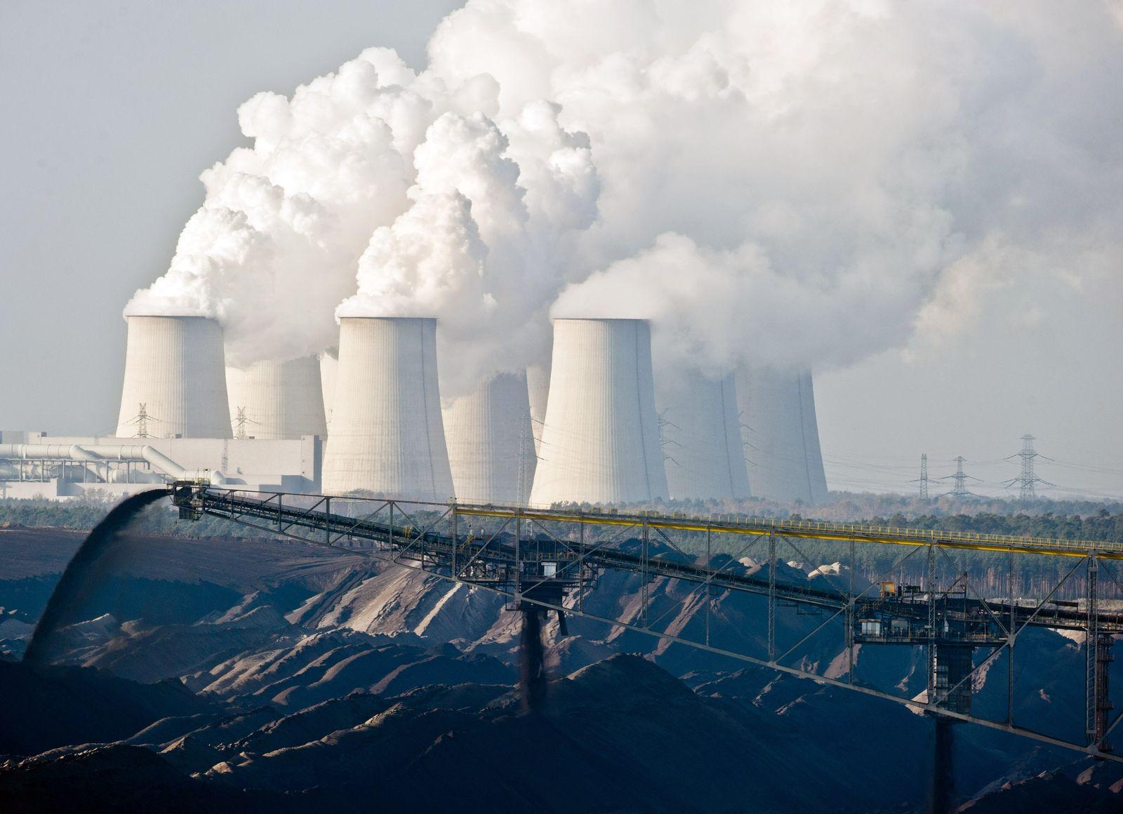 Kraftwerk Jänschwalde / Emission / Klimawandel / Kraftwerk / Kohlekraftwerk / CO2