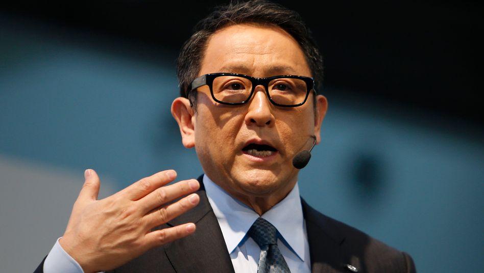 Echte Chefsache: Toyota-Chef Akio Toyoda persönlich leitet die neue Elektroauto-Sparte des Konzerns