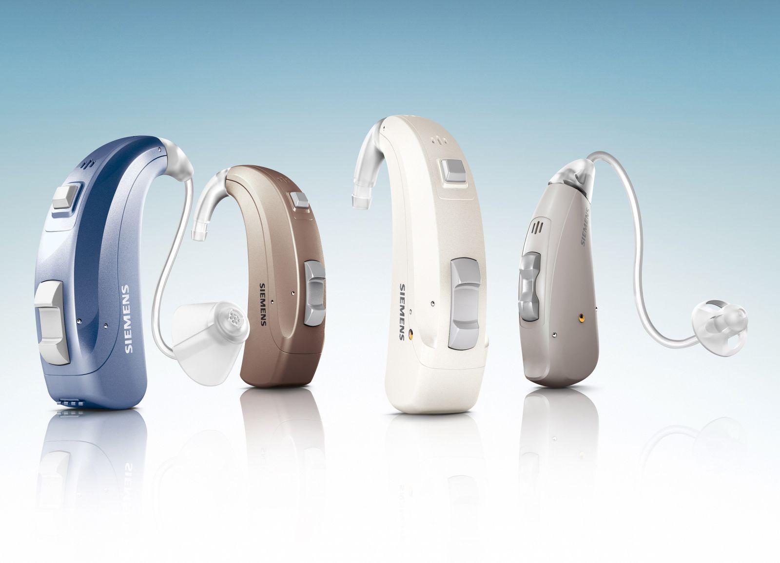 Siemens-Hörgerätefamilie Motion