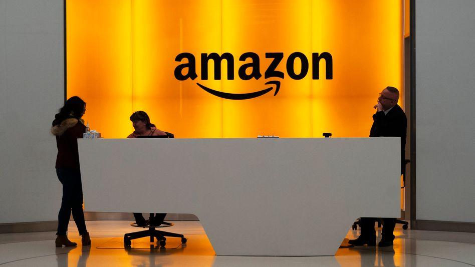 Amazon-Büro in New York City