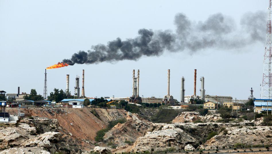 Ölförderung in Iran: US-Sanktionen gegen das Land treiben den Ölpreis in die Höhe.